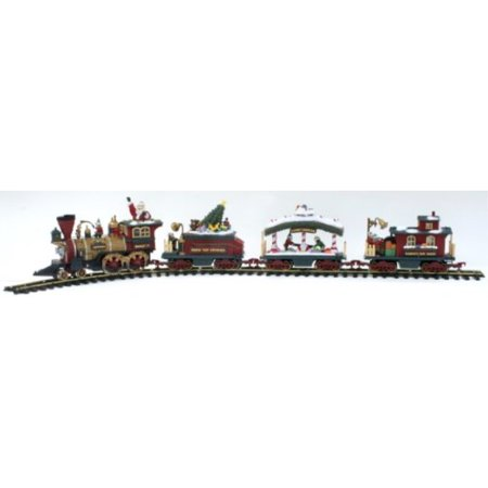 Holiday Express Animated Electric Train Set Walmart Com