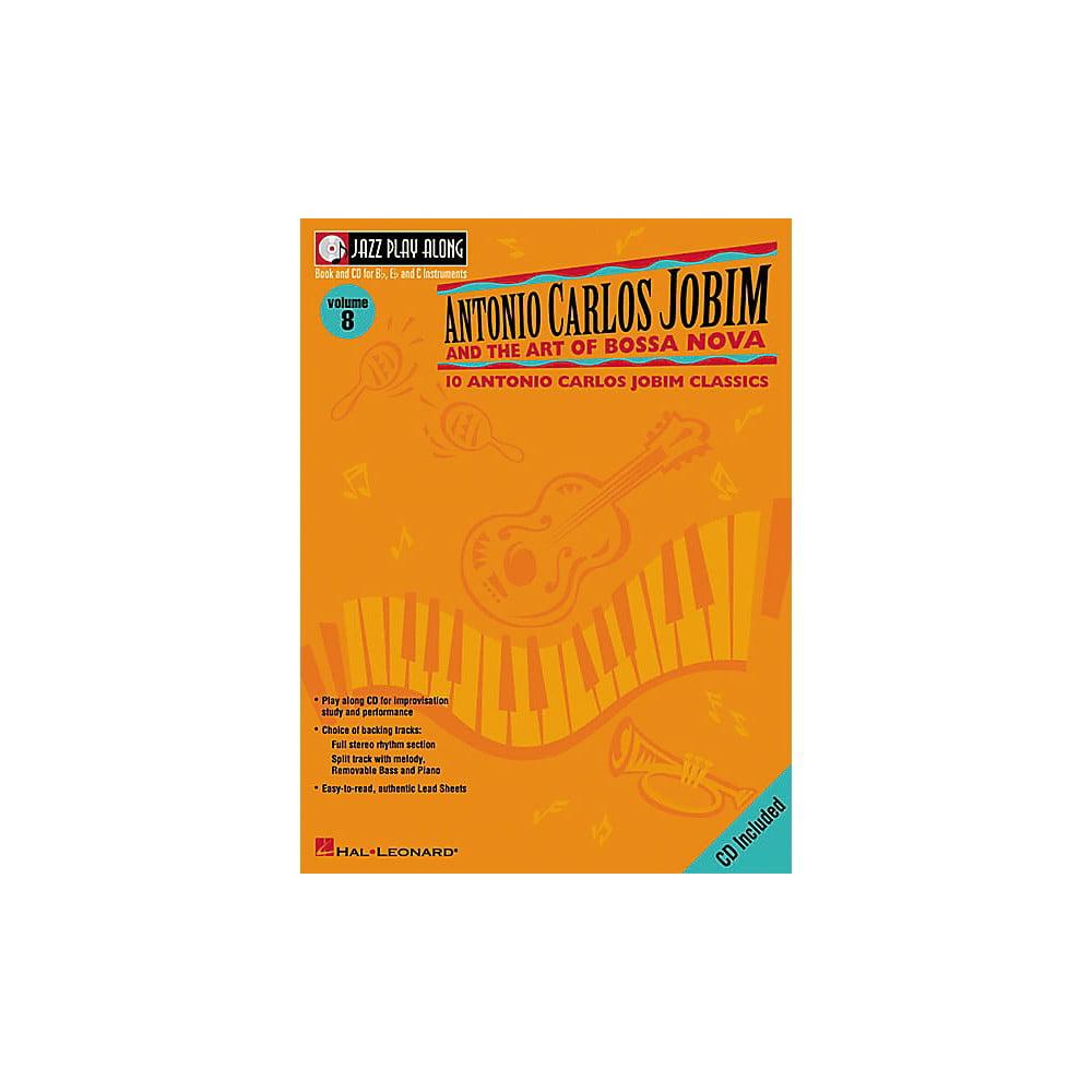 Hal Leonard Antonio Carlos Jobim Jazz Play Along Series Book and CD