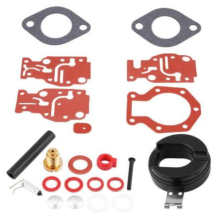 HURRISE Carb Rebuild Kit, Motorcycle Carburetor Repair,Carburetor Rebuild Kit Carb Repair Tools for Johnson / Evinrude 439073 0439073 - image 5 de 7