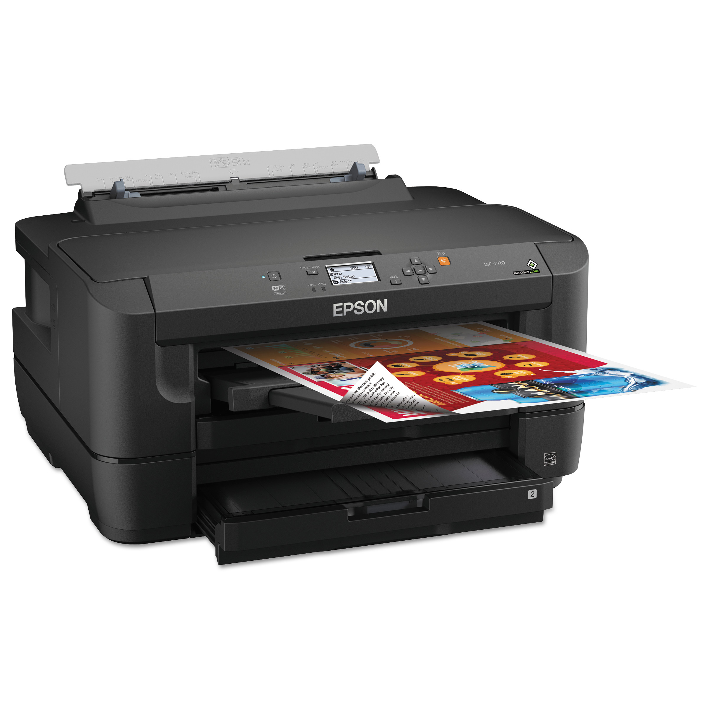 Epson WorkForce WF-7110 Wireless Inkjet Printer by Epson