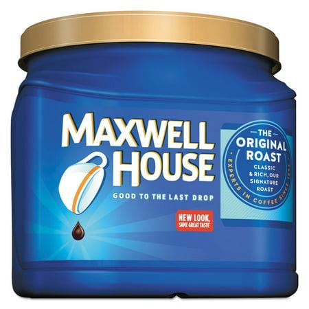 Maxwell House Coffee, Decaffeinated Ground Coffee, 29.3 oz Can - MWH04658