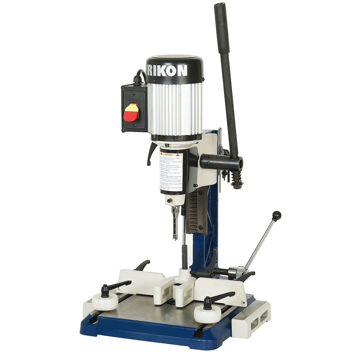RIKON 34-255 120-Volt 1/2-Hp Bench Top Mortising Machine w/ Extension wings