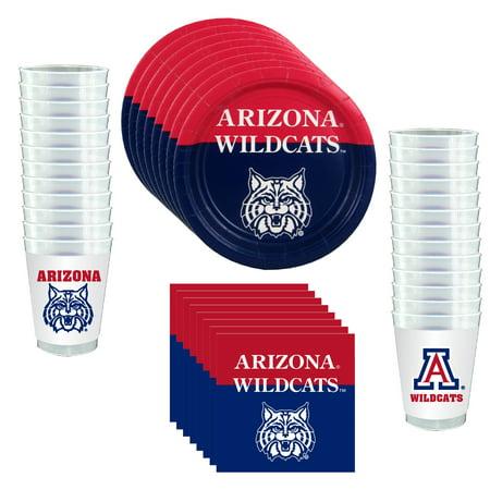 Arizona Wildcats Party Supplies - 81 Pieces (Serves 24)](Halloween Party Arizona 2017)