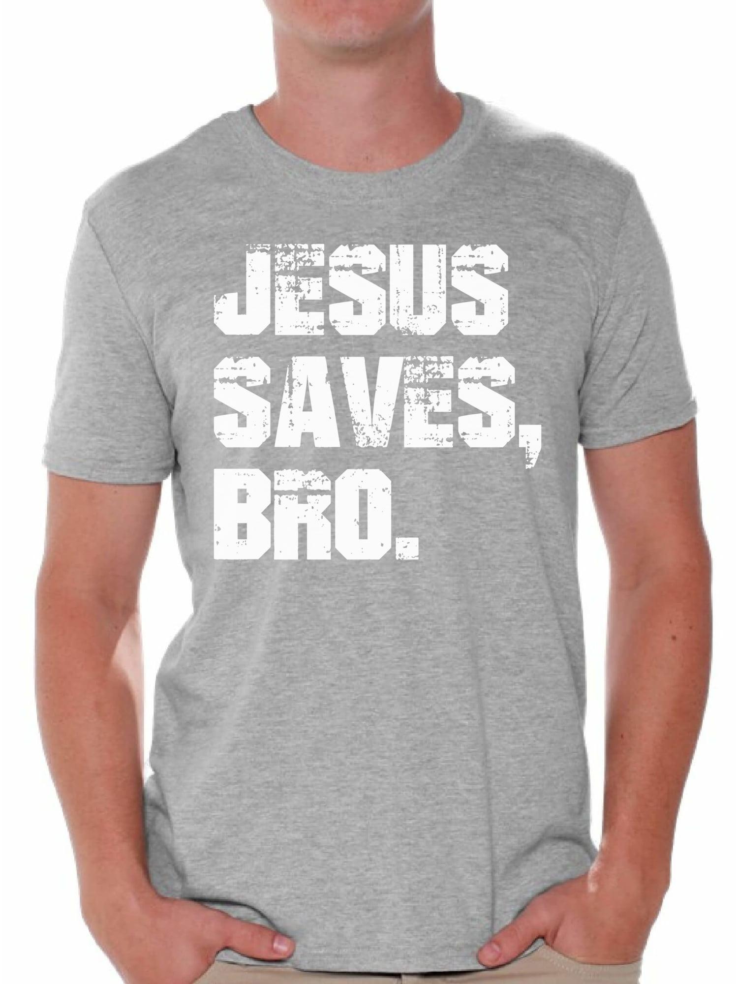 Jesus Save Bro Fashion Mens T-Shirt and Hats Youth /& Adult T-Shirts