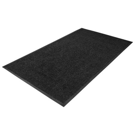 "Guardian 94040635 Platinum Series 48"" x 72"" Black Indoor Wiper Mat - image 1 de 1"