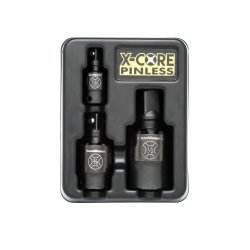 3Pc. 1/4in., 3/8in. and 1/2in. Dr Impact Wrench Set ()