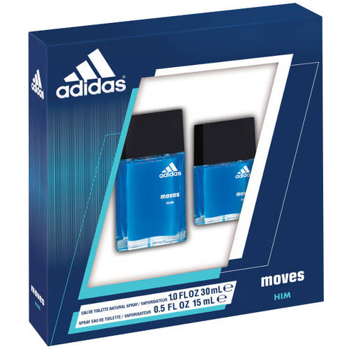 Adidas Moves for Him Men's Cologne Gift Set, 2 pc