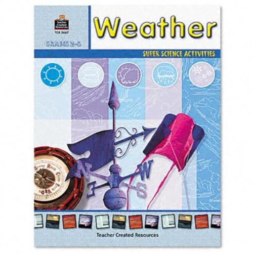 Teacher Created Resources Grades 2-5 Weather Book Education Printed Book For Science - English - Book - 48 Pages (tcr-3667)