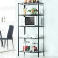 Zimtown Wire Shelving 5 Tier Metal Storage Rack Shelf 5 Shelf Shelves Unit Kitchen