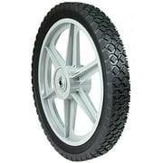 "MaxPower 335110 14"" x 1.75"" Spoked Plastic Wheel"