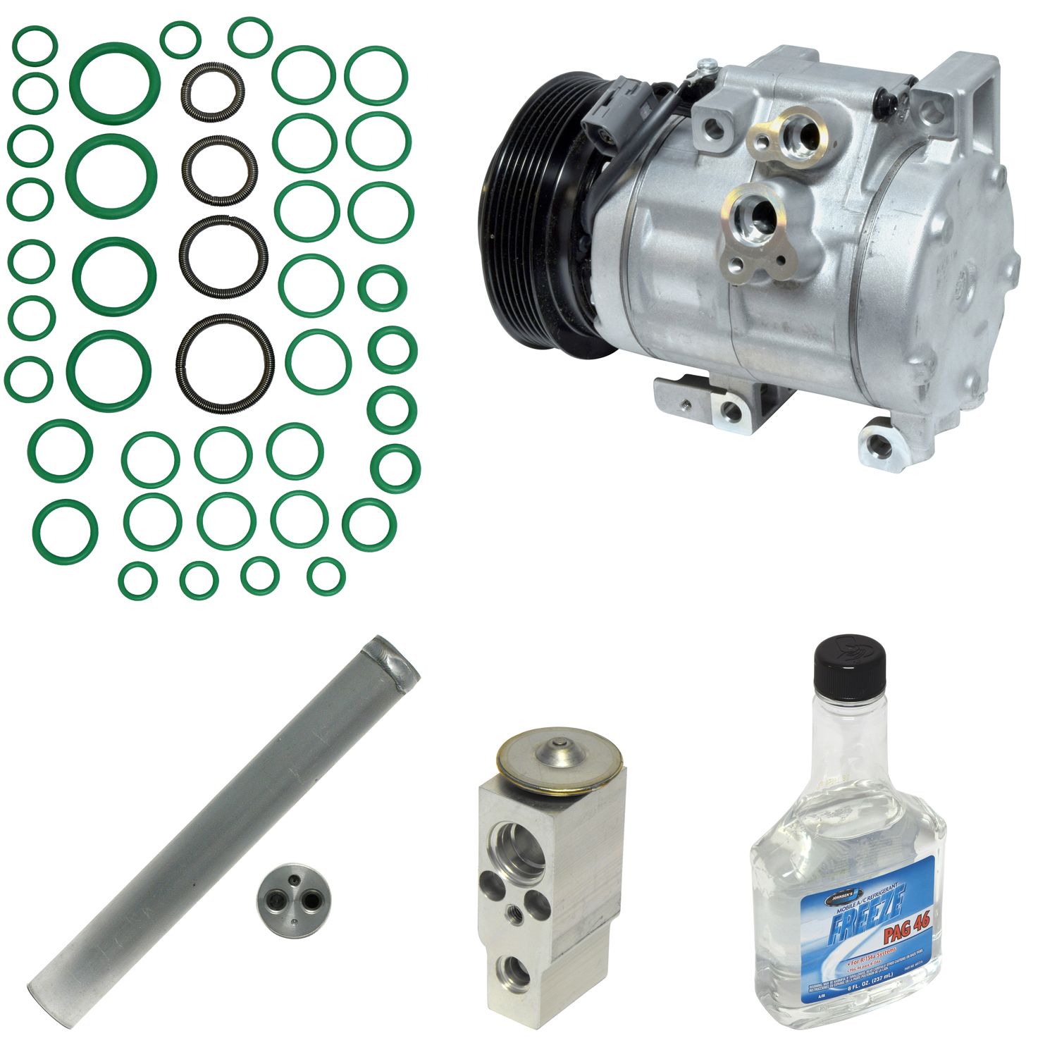 CX-7 New A//C Compressor and Component Kit KT 1346A