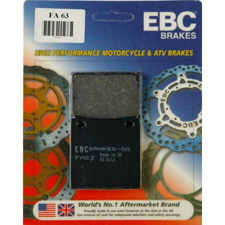 EBC Organic FA Series Brake Pad - Rear for Suzuki GSF 1200 1996-1999