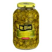Mt. Olive Jalapeno Slices, 64.0 OZ