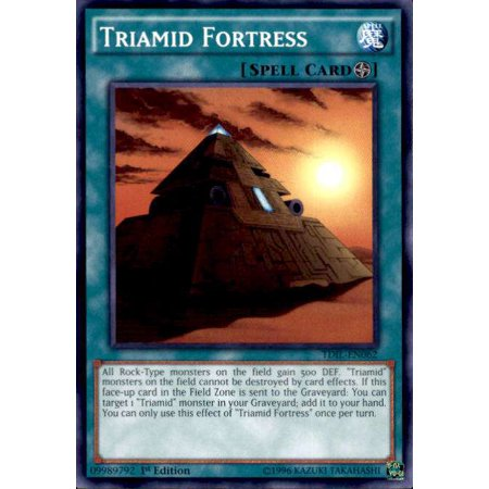 YuGiOh The Dark Illusion Triamid Fortress (Dark Fortress)