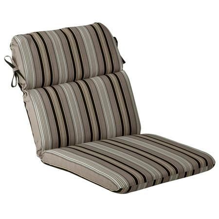 Outdoor Patio Furniture High Back Chair Cushion - Black ...