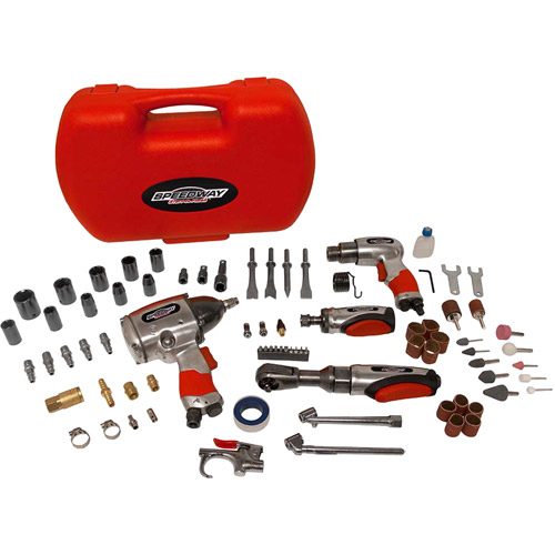 Speedway 74pc Air Tool Accessory Kit