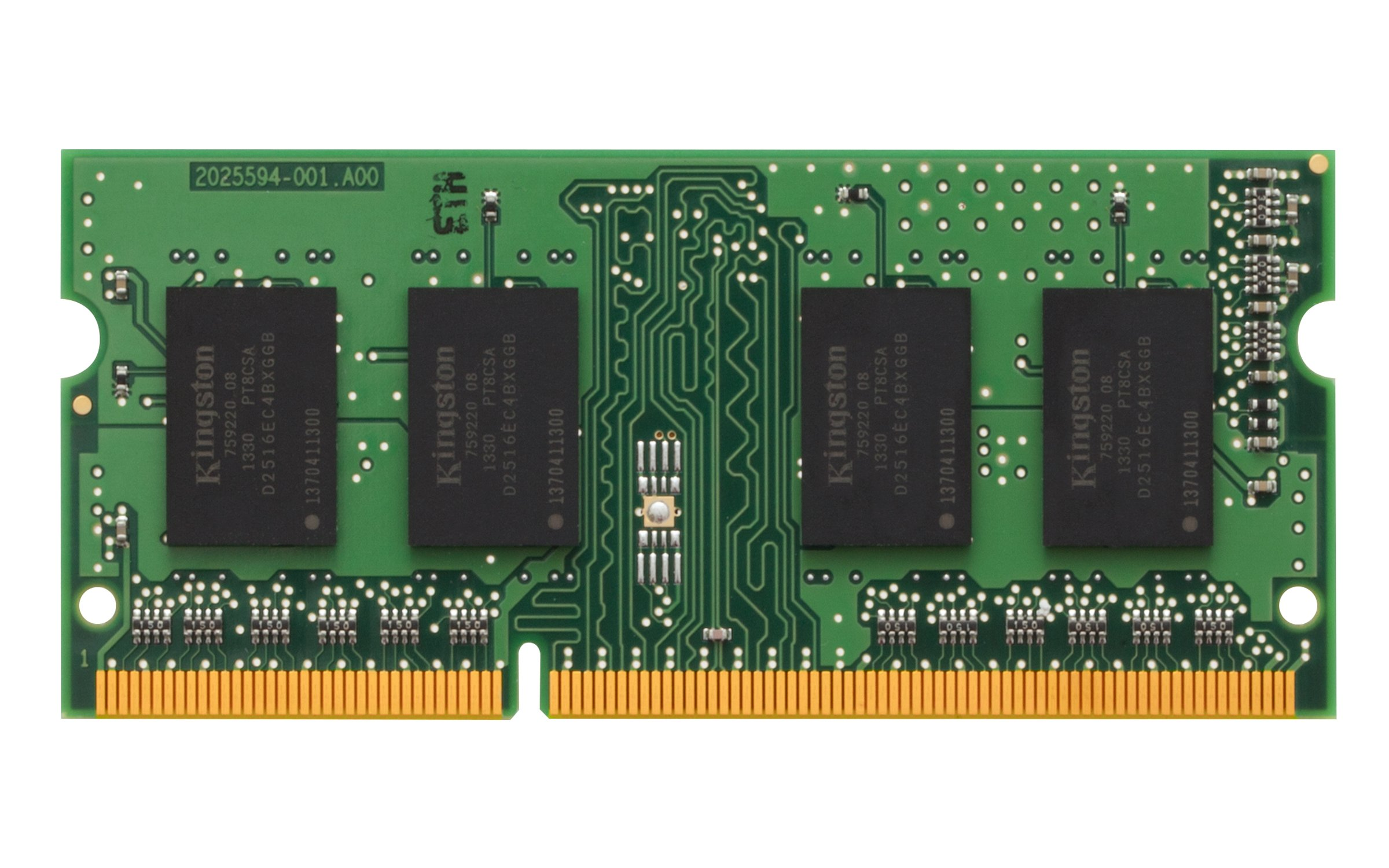Kingston 8gb Module - Ddr3 1600mhz - 8 Gb [1 X 8 Gb] - Ddr3 Sdram - 1600 Mhz Ddr3-1600/pc3-12800 - Non-ecc - Unbuffered - 204-pin - Sodimm (kcp316sd8-8)
