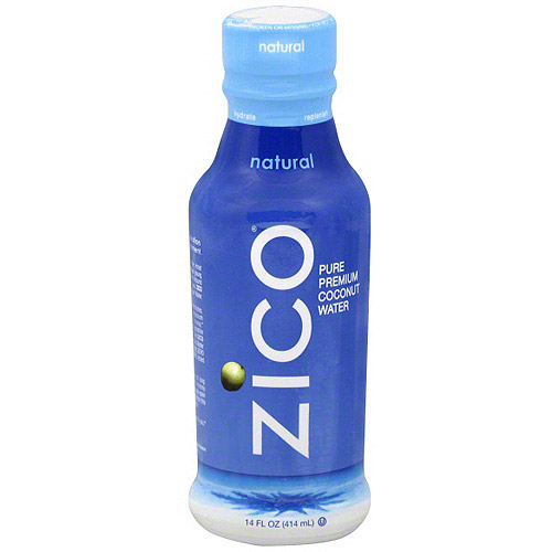 Zico Natural Coconut Water, 14 oz (Pack of 12)