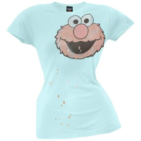 Sesame Street - Elmo Head Juniors T-Shirt