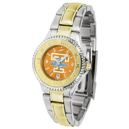 Two Tone Anochrome Watch (Linkswalker Tennessee Lady Volunteers Ladies Two Tone Anochrome Watch )