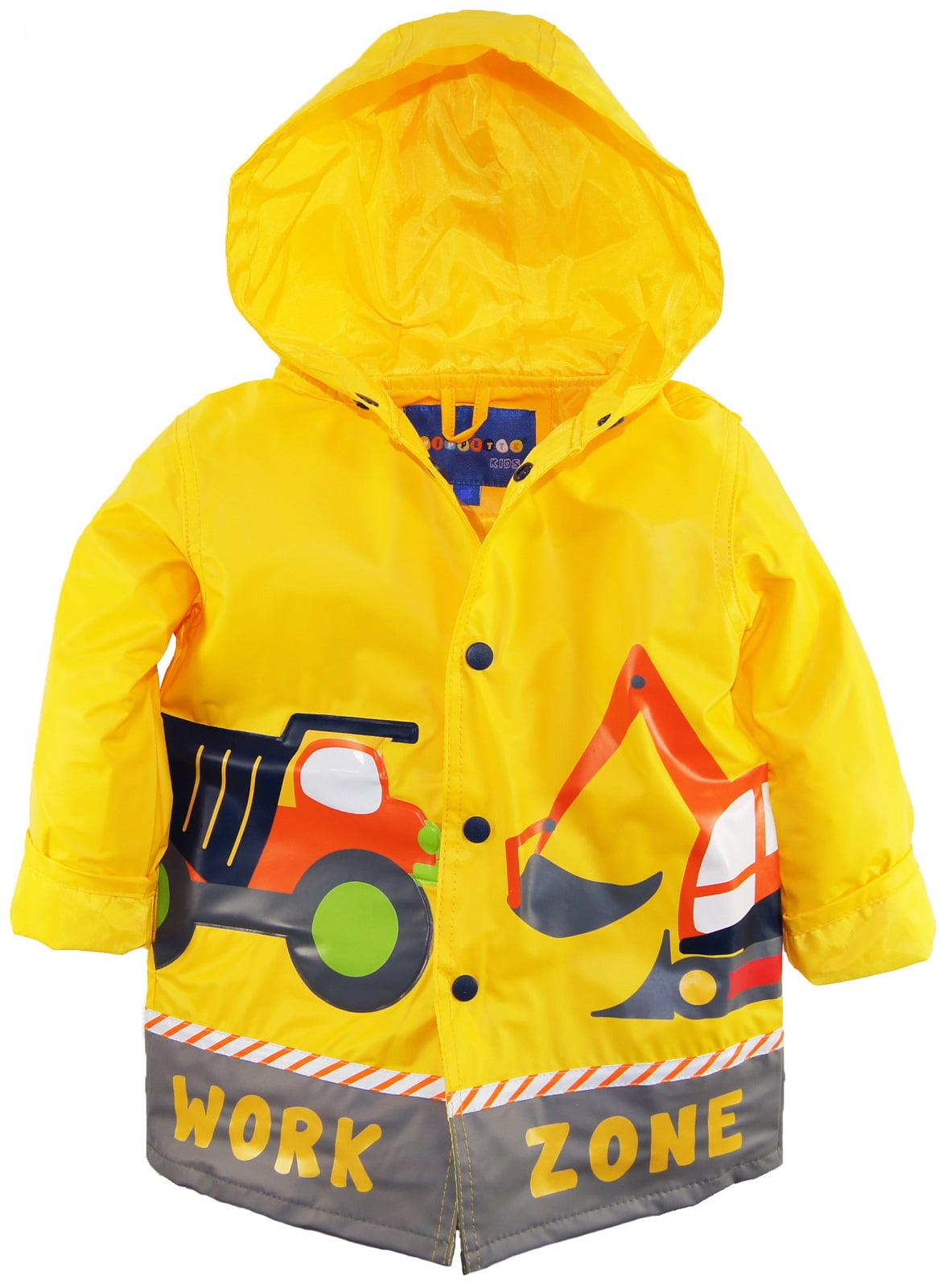 ab0076910 WIPPETTE KIDS - Wippette Toddler Boys Rain Coat Vinyl Waterproof ...
