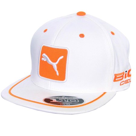 buy popular 3fdd6 6e23e PUMA - Men s Pro Tour Patch 110 Snapback Cap White - Walmart.com