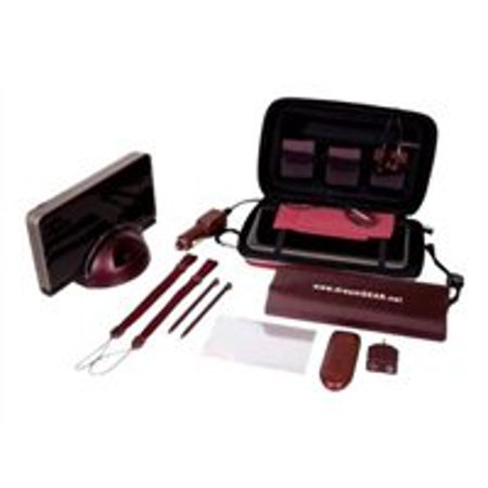 dreamGEAR 20 In 1 Starter Kit for DSi XL - Accessory kit - burgundy - for Nintendo DSi XL
