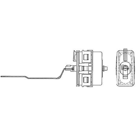 Hella Behr 351329381 A/C Vacuum Actuator for Mercedes-Benz