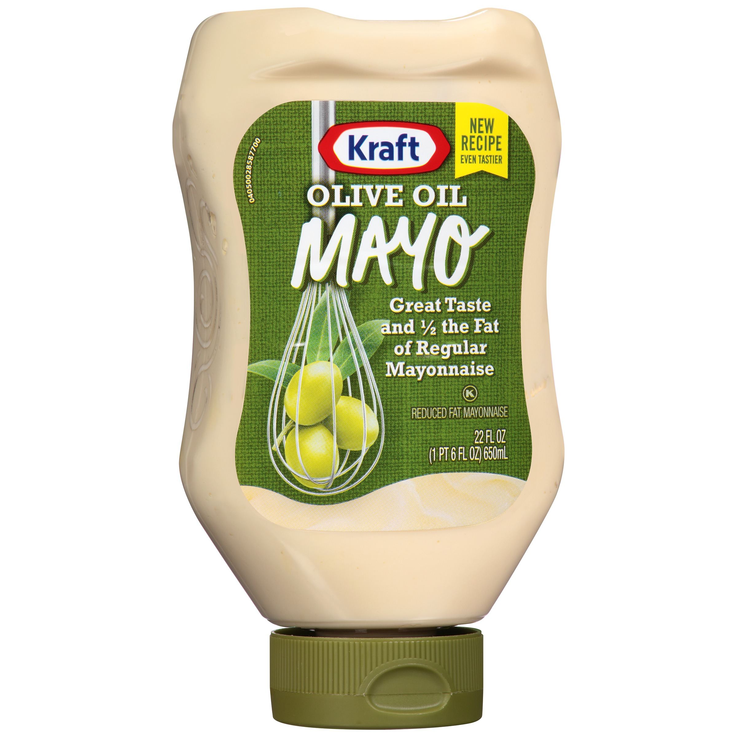 Kraft Olive Oil Reduced Fat Mayonnaise 22 fl. oz. Bottle