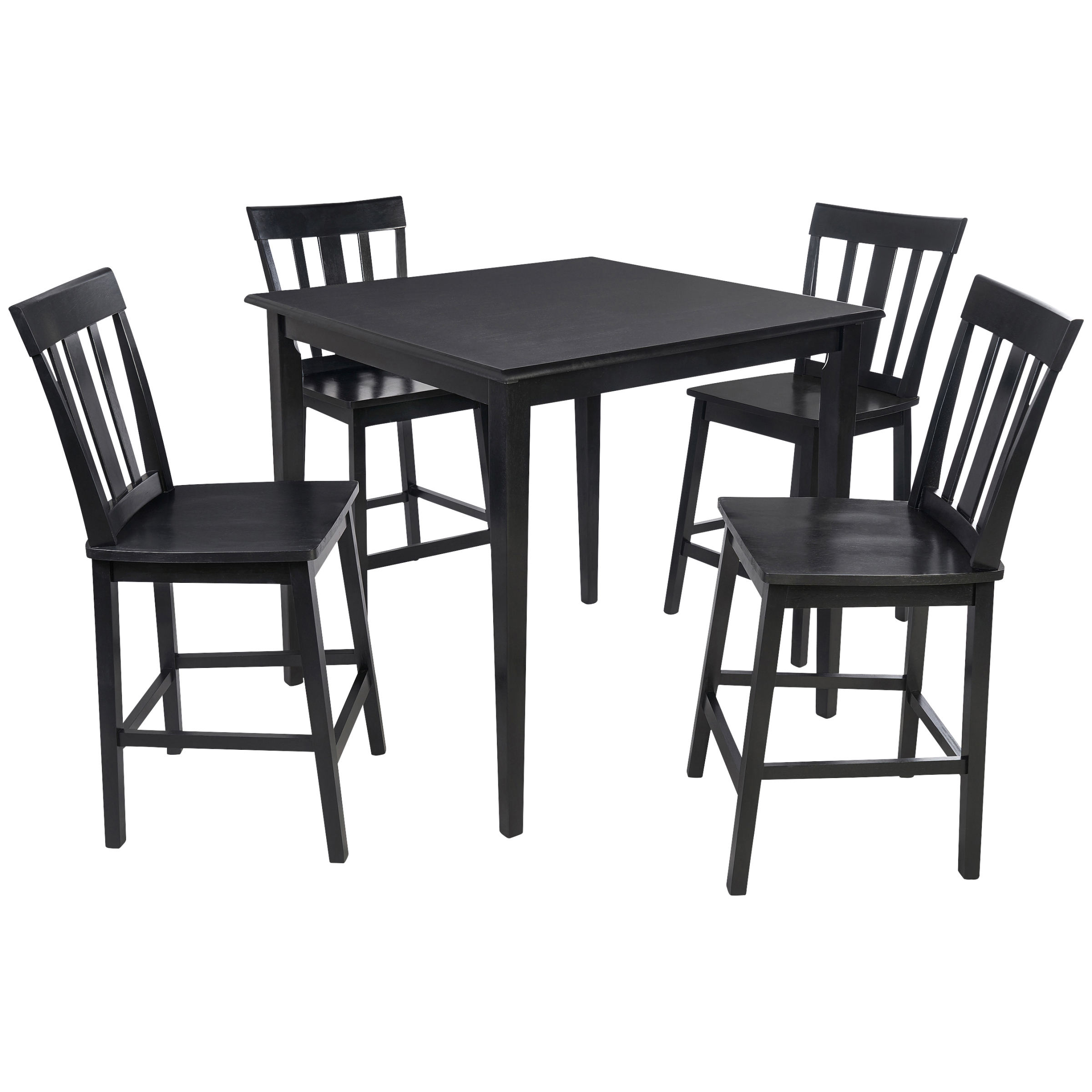 Mainstays 5-Piece Dining Set, Black