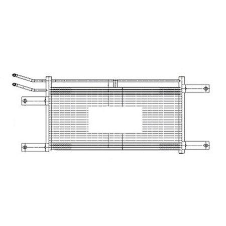 Transmission Cooler Assembly for 03-06 Dodge Ram CH4050110