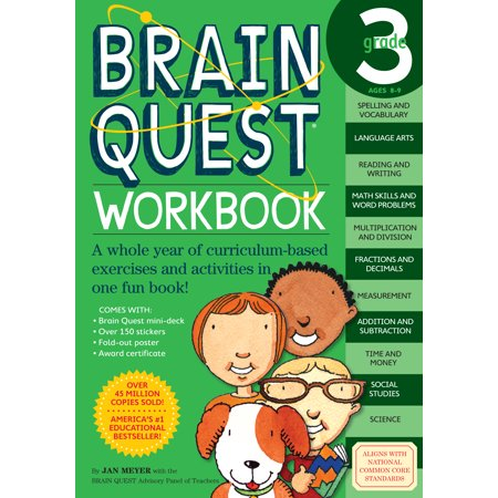 Brain Quest Workbook: Grade 3