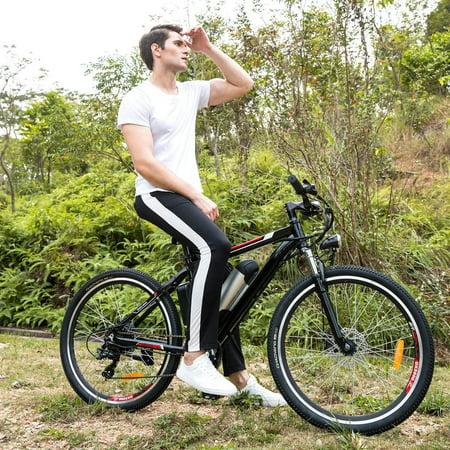 25-Inch-Aluminum Full Suspension Mountain Bike with Disc Brakes ...