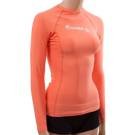 00b08c9960 O'Neill women's basic skins long sleeve rashguard