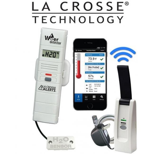 La Crosse Technology 926-25104-BP Technology Remote Water Leak Detector