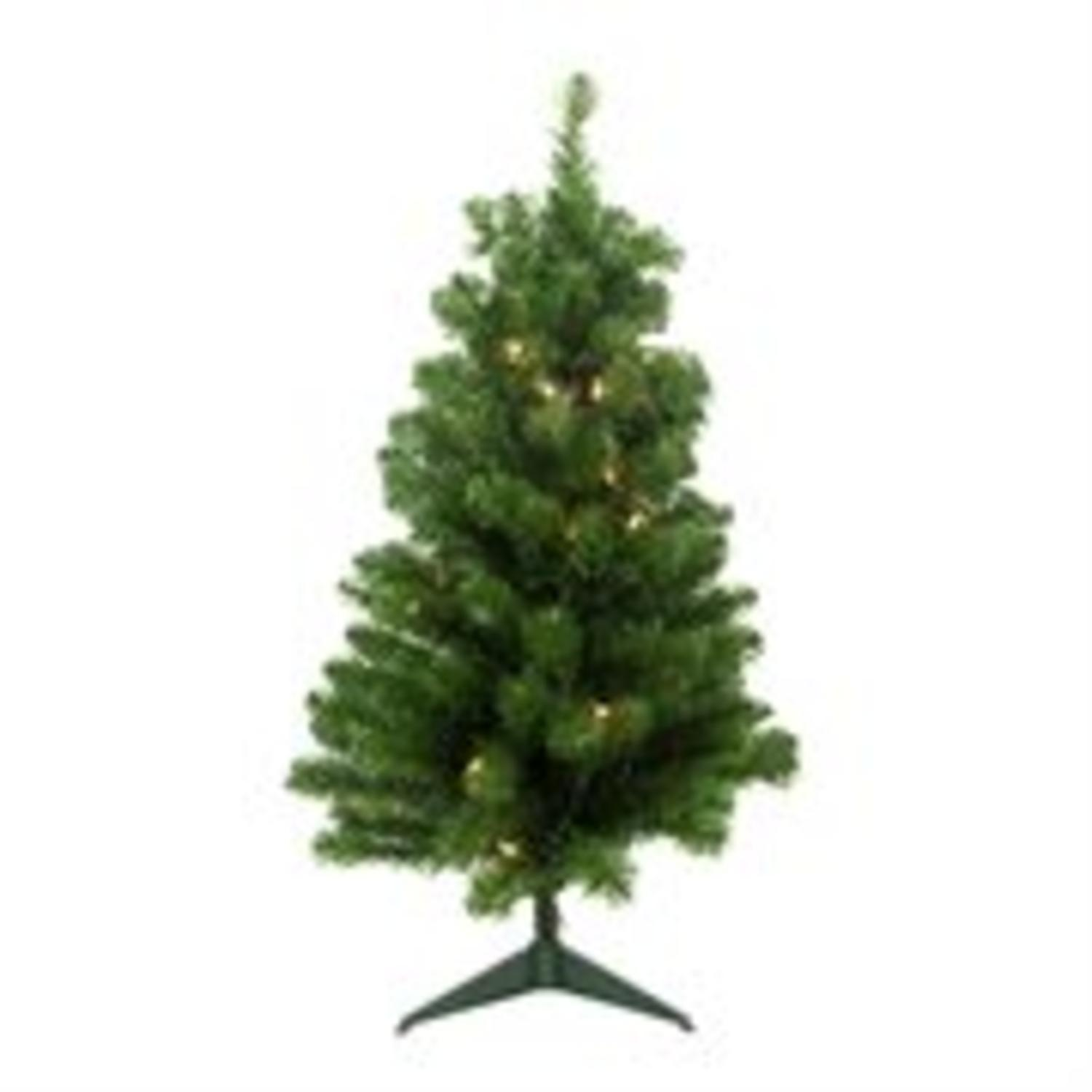 2 X 13 Quot Pre Lit Noble Pine Artificial Christmas Tree