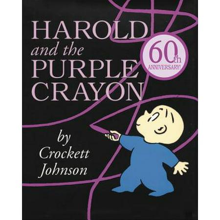 Harold and the Purple Crayon (Crayon Counting Book)