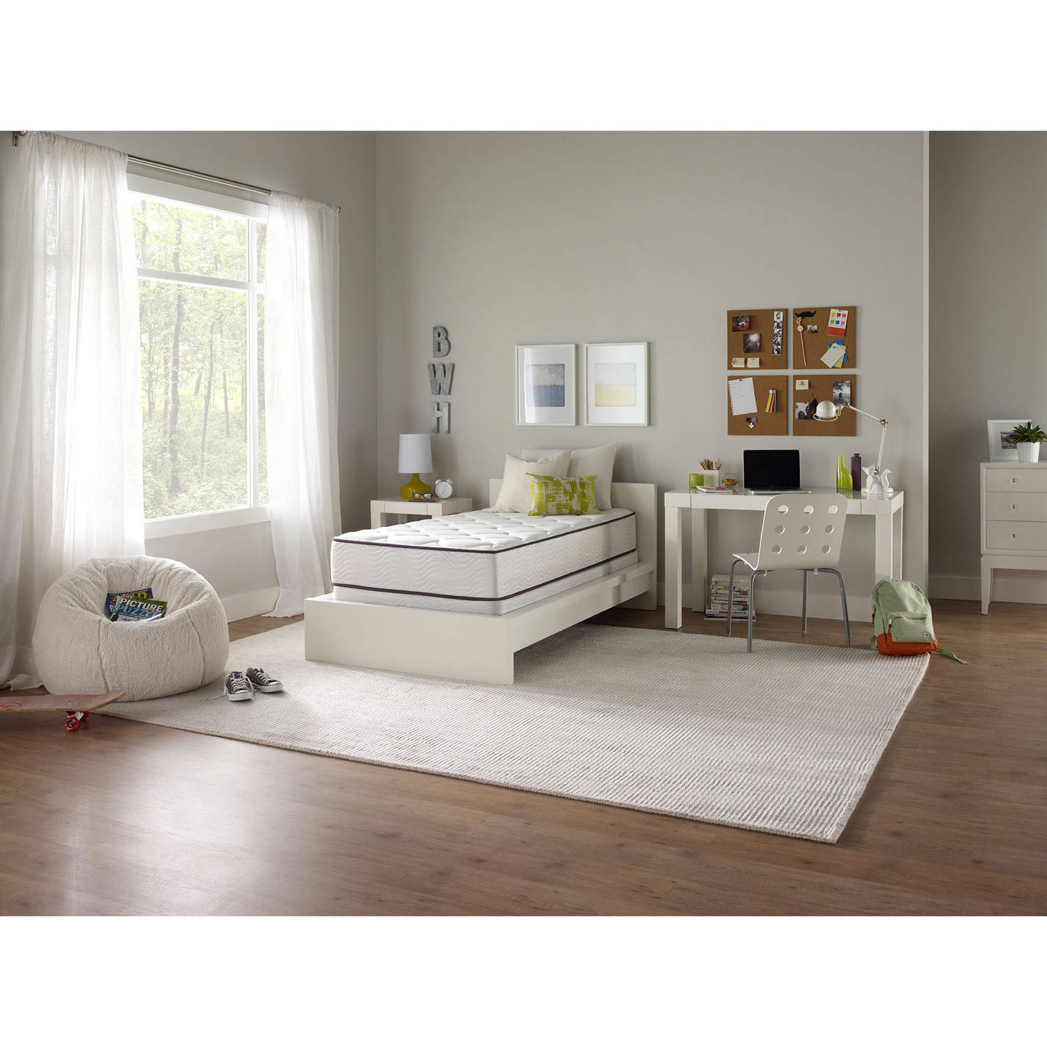 "Beautyrest Studio 10"" Pocketed Coil Plush Mattress, Multiple Sizes"
