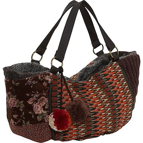 Ashley M Winter Yarn Hobo Bag