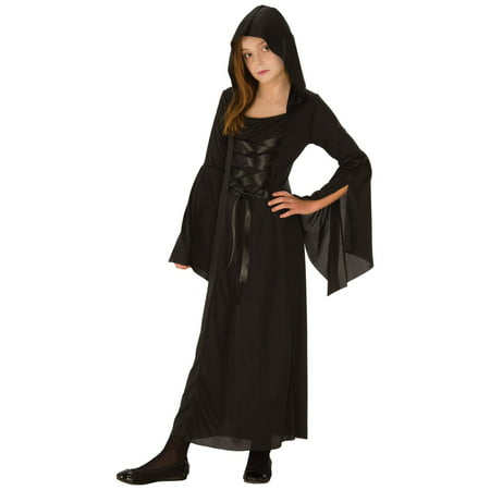Girls Gothic Enchantress Costume - Gothic School Girl Costume