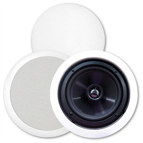 Bic America Msr-pro6 Weather Resistant In-ceiling Speaker - 2-way Speaker - Cable 125w (rms) - Magnetically Shielded - White