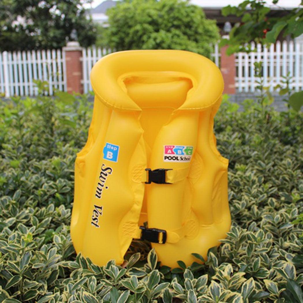 Life Jacket, Outgeek Inflatable Snorkel Vest Snorkel Jacket Free Diving Safety Summer Swimming Jacket for Kids by Outgeek
