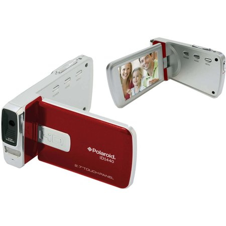 Sakar Polaroid Red ID1440CL-RED 14MP Digital Camcorder with 2.7