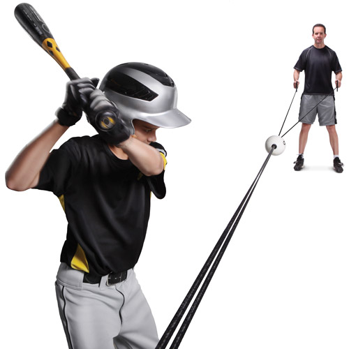 SKLZ Zip-N-Hit Pro Controlled Pitch Baseball Batting Trainer by SKLZ