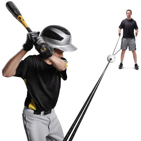 SKLZ Zip-N-Hit Controlled Pitch Baseball Batting Trainer Black Baseball Stirrup