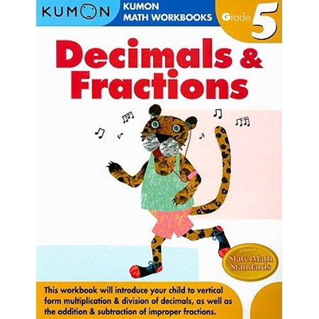 Decimals & Fractions Grade 5 (Write Each Fraction As A Decimal 3 5)
