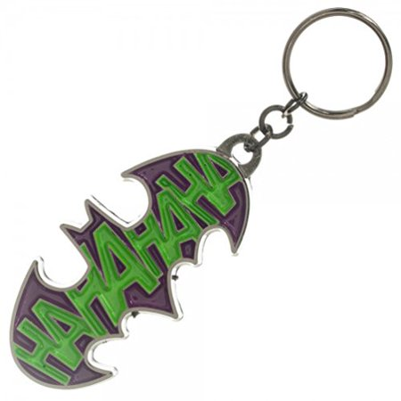 DC Comics Batman Joker HaHa Enamel Metal Key Chain Key Ring Key - Enamel Key Ring