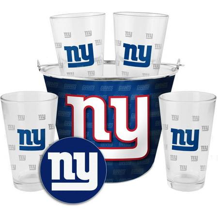 Boelter Brands NFL Gift Bucket Set, New York Giants by