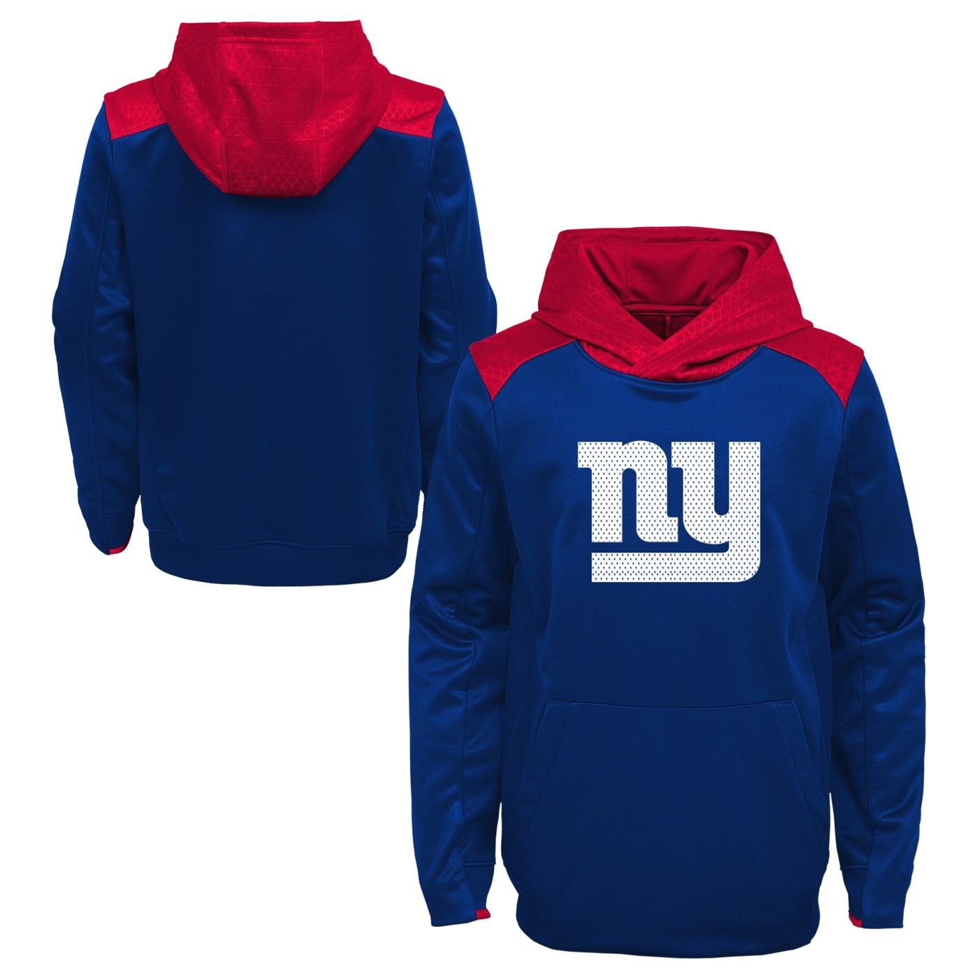 "New York Giants Youth NFL ""Off the Grid"" Pullover Hooded Sweatshirt"