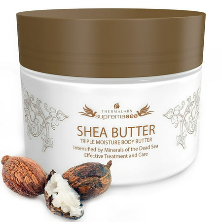 Shea Butter For Body 85 Oz Stretch Marks Removal Cream Feel Silky Smooth